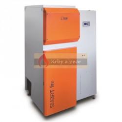 Automatický kotel LAZAR SmartFIRE 81 kW na dřevěné pelety
