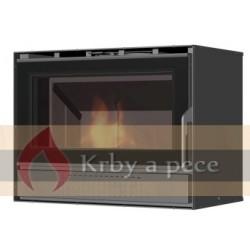 Krbová vložka KV 6.6.4 konvekční opláštění s ventilátory, Romotop